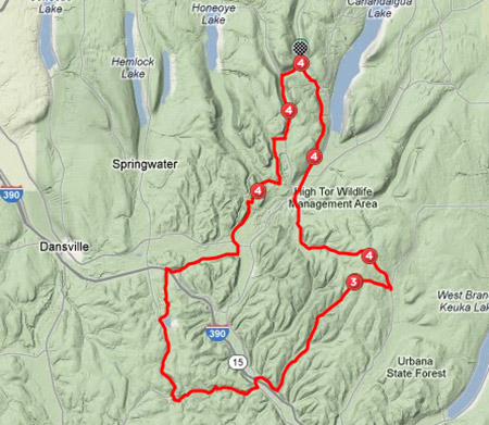 2012 highlander corkscrew topo map